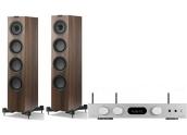 Audiolab 6000A Play + KEF Q550