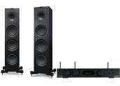 Audiolab 6000A Play + KEF Q750