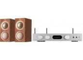 Audiolab 6000A Play + KEF R3