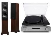 Cambridge Audio AXA35 + PSB...