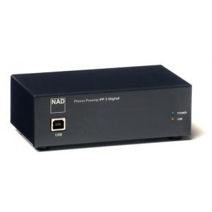 NAD PP 3i previo de phono MM/MC con salida USB. Software y cable USB incluido (P