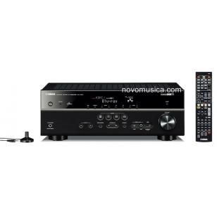 Receptor AV Yamaha RX-V573 3D 4k HDMI pass through airplay