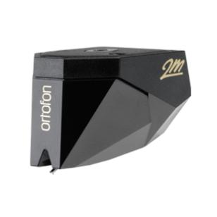 Ortofon 2M Black Capsula  MM, Iman Movil. Cantilever de aleación, aguja elíptica