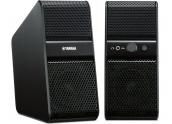 Altavoces para ordenador Yamaha NX50 NX-50 dos entradas Mini-Jack, regulación de