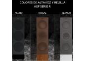 KEF R5 | Altavoces de Suelo - Color Blanco - Negro - Nogal - Oferta Comprar