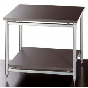 Solidsteel 5.2 mueble de audio dos estantes y altura de 48 cms