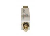 Hiface USB-RCA Adaptador USB a RCA digital coaxial, para procesar la señal digit