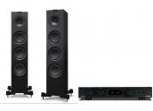 Audiolab 6000A + KEF Q550
