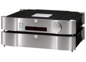 Moon 850P previo estéreo de referencia. Circuitería de audio flotante, chásis do