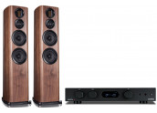 Audiolab 6000A + Wharfedale...